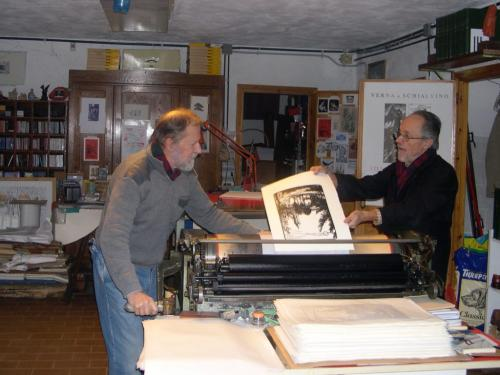 Gianni Verna e Gianfranco Schialvino